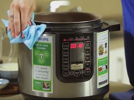 Philips All-in-One Cooker - Cleaning and maintenance video