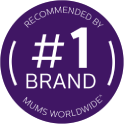 Number one brand recommended by Mums