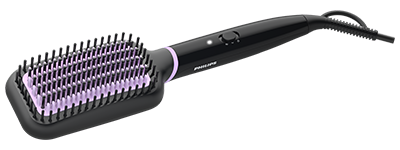 Heated Straightener Brush