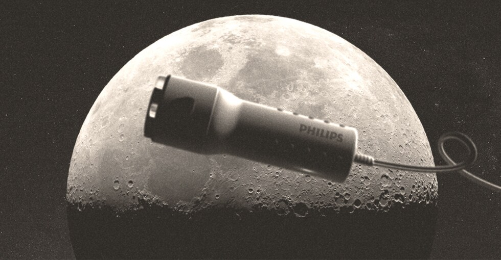 The Philips Moonshaver that might have accompanied space astronaut Neil Armstrong to the moon